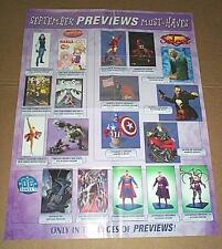 50 POSTERS:Avengers/Batman/Superman/JLA/Spiderman/X-Men/Marvelmania/Thor/Ironman