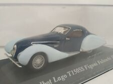 T150ss 1/43 talbot lago t150 Figoni solos 1938 scale car scale diecast