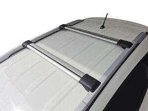 Aerodynamic Roof Rack Cross Bar for Hyundai ix35 2009-14 Alloy Lockable