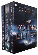 The Young Elite 3 Books Set By Marie Lu The Rose Society, Midnight Star NEW