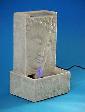 deko-brunnen, - wasserwände & -säulen mit buddha fürs wohnzimmer ... - Led Deko Wohnzimmer