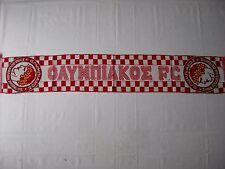 d1 sciarpa OLYMPIAKOS FC football club calcio scarf bufanda schal grecia greece