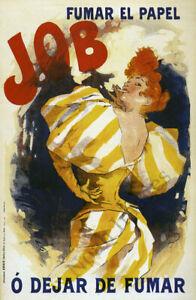 Job Fumar el Papel vintage cigarette paper ad poster repro 16x24