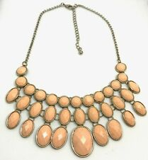 50 inch 4mm Pink Coral Freshwater Pearl Necklace JN278