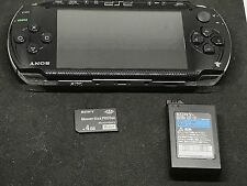 Sony PSP-1000 Console Black Tested System JP Import Japan with battery