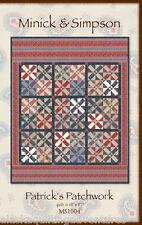 Quilt Pattern ~ PATRICK'S PATCHWORK ~ by Minick & Simpson