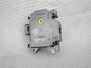 MGZT. Rover 75. Heater fresh recirculated air control motor.