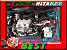 K&N+RED 97-05 PONTIAC GRAND AM/ALERO/MALIBU 3.1 3.1L/3.4 3.4L V6 AIR INTAKE TB