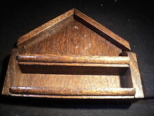 Thimble wooden display case holds 12 thimbles code c12