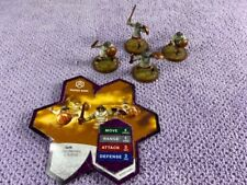 Heroscape Sacred Band - Common Squad - With Card