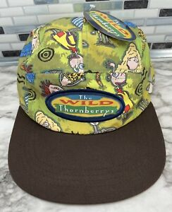 The Nick Box Nickelodeon Wild Thornberrys Camp Cap Snap Back Hat NEW Spring 2021