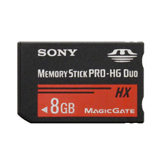Sony 8GB Memory Stick PRO HG Duo 50MB/s Memory Card