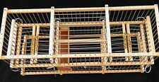 Multi-Action :: Double Balance Trap Cage For Birds // To Trap Softly;