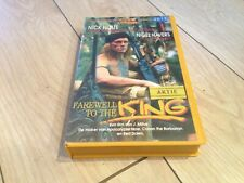Farewell to the King - Nick Nolte - Action - Dutch Ex Rental Big Box Vhs