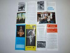 Prospekt Intourist 1966 Kunstfestspiele Moskauer Sterne Weiße Nächte Popow Oleg