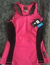 Hot Pink Playboy Women's Sports Training Top New With Tags