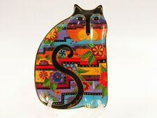 New ListingRoyal Doulton 1995 Laurel Burch Floral Feline Bone China Cat Plate C296