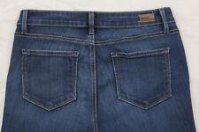 Paige Premium Denim Skyline Size 28 Dark Wash Boot Cut Stretch Jeans Inseam 35