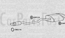 Exhaust Rear Box  Mercedes Benz C180 2.0 Petrol Estate 05/2001 to 12/2002