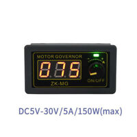 DC5-30V 150W PWM DC motor governor digital display encoder duty cycle frequency