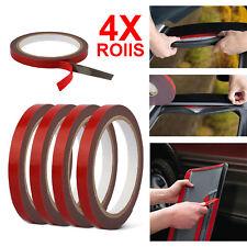 4 Rolls 3M Automotive Acrylic Plus Double Sided Attachment Tape Car Auto Truck