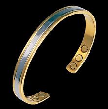 Bracelet magnétique cuivre borée pour bien-être