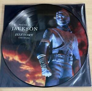 MICHAEL JACKSON - HISTORY CONTINUES - 2LP PICTURE DISC VINYL BRAND NEW 2018