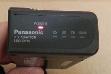 Genuine Panasonic Power Supply Adapter Model LSSQ0219 Output 7.2V-1.2A char 161Q
