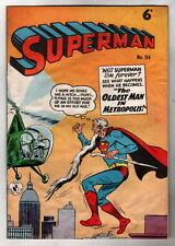 Australian SUPERMAN 114 DC Comics 1950's UK