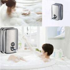 Bathroom Kitchen Wall Mounted Soap Dispenser Shampoo Box Liquid Container