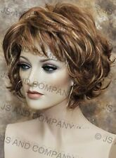 Classy N chic Everyday wig Multiple layers Auburn Blond mix wavy lo RS29