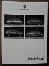 PORSCHE RANGE 2003-04 UK Mkt Brochure - Boxster Cayenne 911 GT2 Turbo Carrera GT