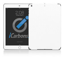 iPad Air Skin - White Carbon Fibre skin by iCarbons