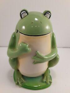 Novelty Frog Bathroom Toilet Brush Holder Resin