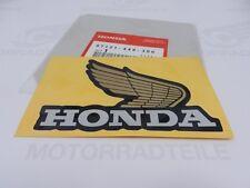 Honda Tank-Aufkleber Flügel Rechts Original