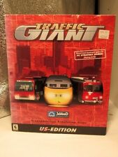 TRAFFIC  GIANT US Edition JoWood 2001 CITY PLANNING  PC CD Game BIG BOX SEALED