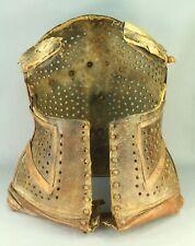 ! Antique Thick Leather Women's Corset Corsage Brace Girdle