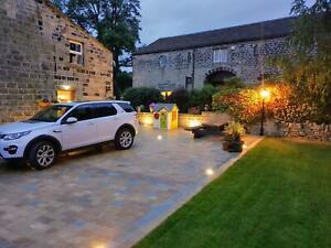 Genuine Yorkstone Yorkshire stone Tumbled setts block Paving drive path driveway