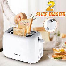 Toaster 2 Scheiben Brötchenaufsatz Toastautomat Küchenzubehör Sandwich 700W