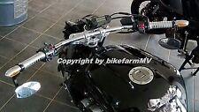 810 x 22 mm CHROM Drag Bar SPORT Lenker Motorrad Super Bike Streetfighter ABE