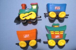 SONIC 1993 - Dr. Pepper Train - Complete Set of 4