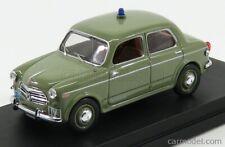 Rio-models 4587 scala 1/43 fiat 1100/103 polizia 1954 green