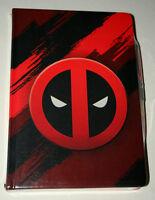 Marvel Comics Deadpool Premium Notebook Journal Diary & Pen Set New School Notes