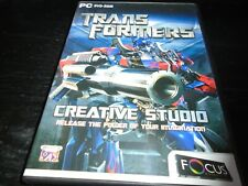 Transformers Creative Studio   make your own cards etc   Pc game