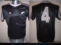 New Zealand Black Adidas Shirt Jersey Trikot Football Soccer Vintage Adult M Top