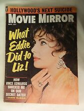 VINTAGE MOVIE MIRROR  DECEMBER 1962