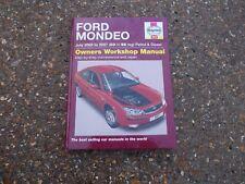 FORD MONDEO MK3 MODELS 2003 - 2007 HAYNES OWNERS WORKSHOP MANUAL
