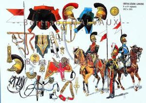 Der Plume Bogen U19: Essex-Licht Lancers 5e und 6e Regimenter 1812 A 1815