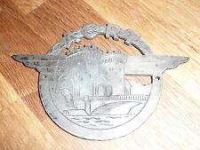 rare insigne argent   aerodrome de VERDUN ROBERT THIERY  apres 1945