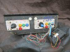 23 3/4 - 9 1/2 6 button street fighter neo geo CONTROL PANEL ARCADE GAME PART